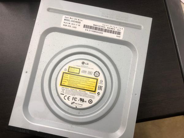 DVDドライブが読み込まない交換