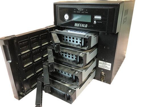 Buffalo TS-XH4.0TL データ復元