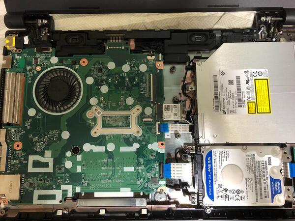 NEC PC-VRT25F Versapro データ回収